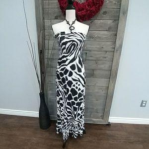 Just Love Tube top Maxi Dress sz S